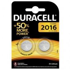 DURACELL DL2016 Блистерная упаковка 2шт.