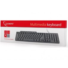 GEMBIRD Клавиатура USB 2.0 Cable Lenght; 1,3m; 104 keys KB-UM-104