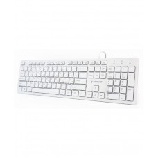 GEMBIRD Клавиатура USB 2.0 Cable Lenght; 1,45 m; 104 keys KB-MCH-03-W-RU