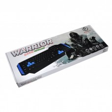 Rebeltec Клавиатура USB WARRIOR Cable Lenght; 1,5m; 104 keys