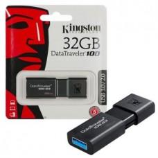 Kingston USB 3.1/3.0/2.0  Flash память  32GB DT100