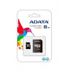 ADATA 8 GB, Micro SDHC, Class 4 + SD Adapter