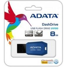 ADATA USB  Flash память 8GB UV100 черная
