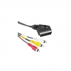 hama кабель 3RCA-Scart 1.5m