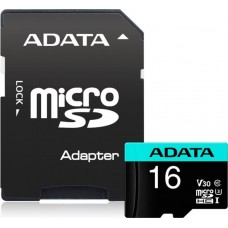 ADATA  16GB Mикро SDHC, Класс 10 + SD Aдаптор