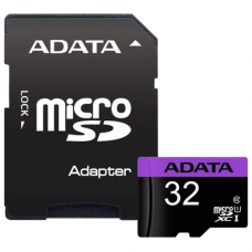 ADATA  32GB Mикро SDHC, Класс 10 + SD Aдаптор