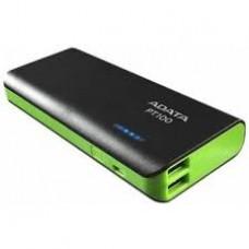 ADATA Power Bank >PT100 2.1A USB 10000mAh Черный