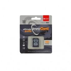 IMRO 8 GB Микро SDHC, Class 10 + SD Aдаптер