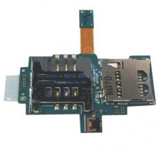 Samsung  i9000 Galaxy S Шлейф cо считывателем сим и карты памяти