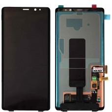 Samsung Note 8 SM-N950F Galaxy Дисплей с Тачскрином и рамкой Чёрный
