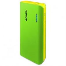 ADATA Power Bank >PT100 2.1A USB 10000mAh зеленый