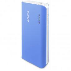 ADATA Power Bank >PT100 2.1A USB 10000mAh голубой